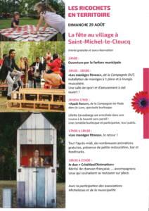 Fête au village à Saint Michel le Cloucq @ parking salle des fêtes
